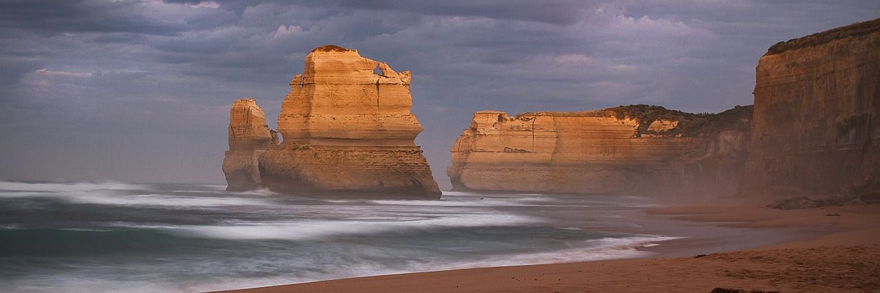 Apply for an Australia visa and enjoy The Cliff of the 12 Apostles in Autumn